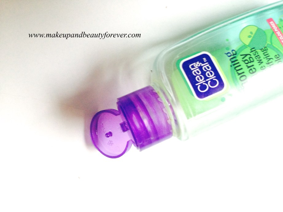 Clean and Clear Morning Energy Face Wash Purifying Apple Review 4