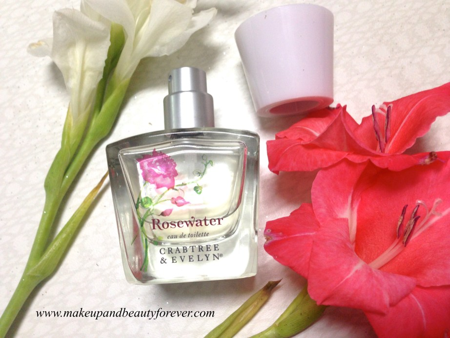 Crabtree & Evelyn Rosewater Eau de Toilette Perfume Review 2