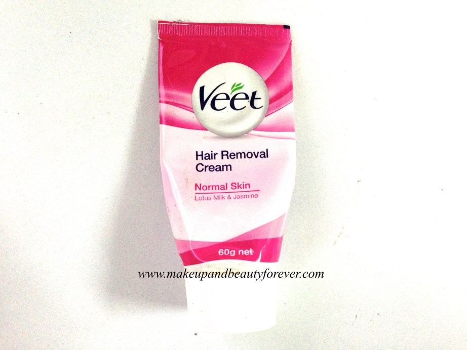 Veet Hair Removal Cream with Lotus Milk and Jasmine for Normal Skin Review 4