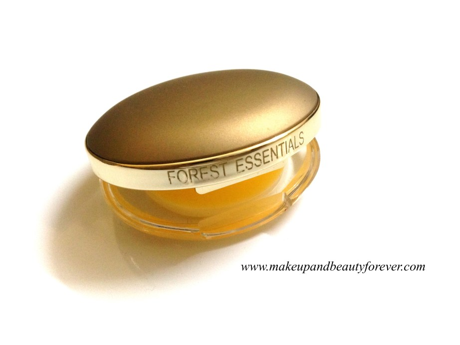 Forest Essentials Luscious Lip Balm Sweet Narangi Juice Review blog India