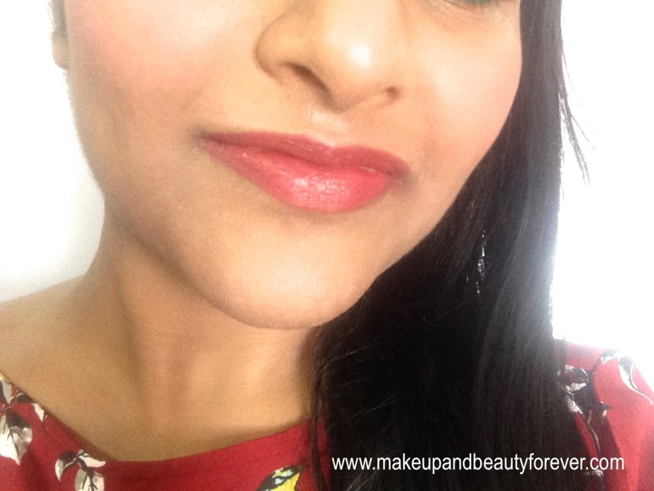 Lotus Herbals Ecostay Long Lasting Lip Colour Rose Mary 408 Review lip swatches