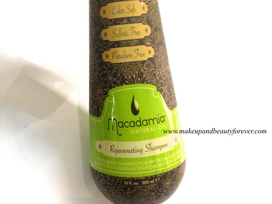Macadamia Natural Oil Rejuvenating Shampoo Review Buy India