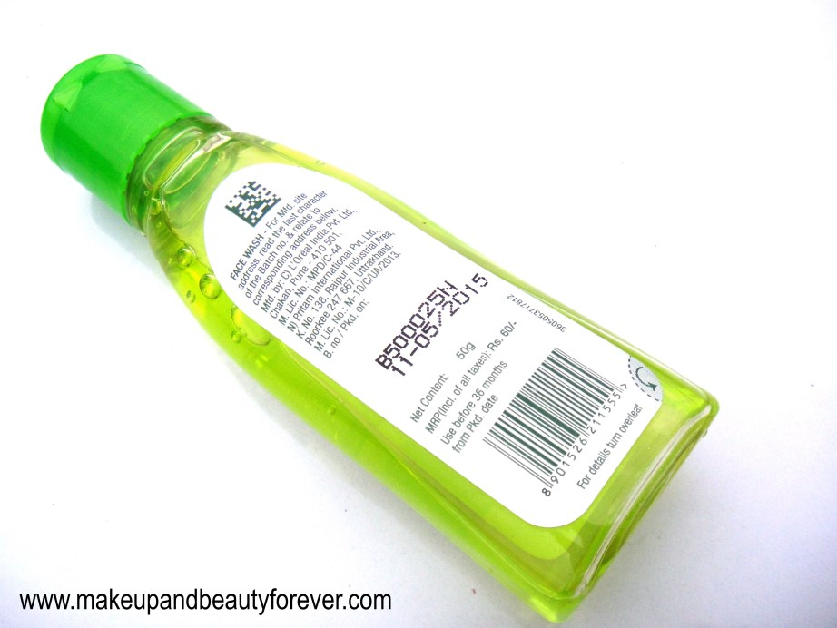 Garnier Pure Active Neem and Tulsi High Foaming Face Wash Review Beauty Blog