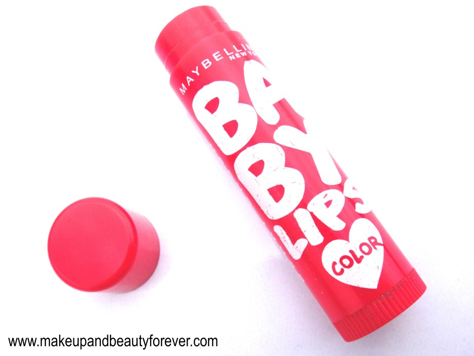 Maybelline Baby Lips Lip Balm Color Berry Crush Review India MBF