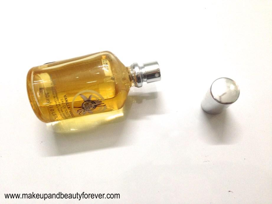 The Body Shop Vanilla Eau de Toilette Review beauty blog