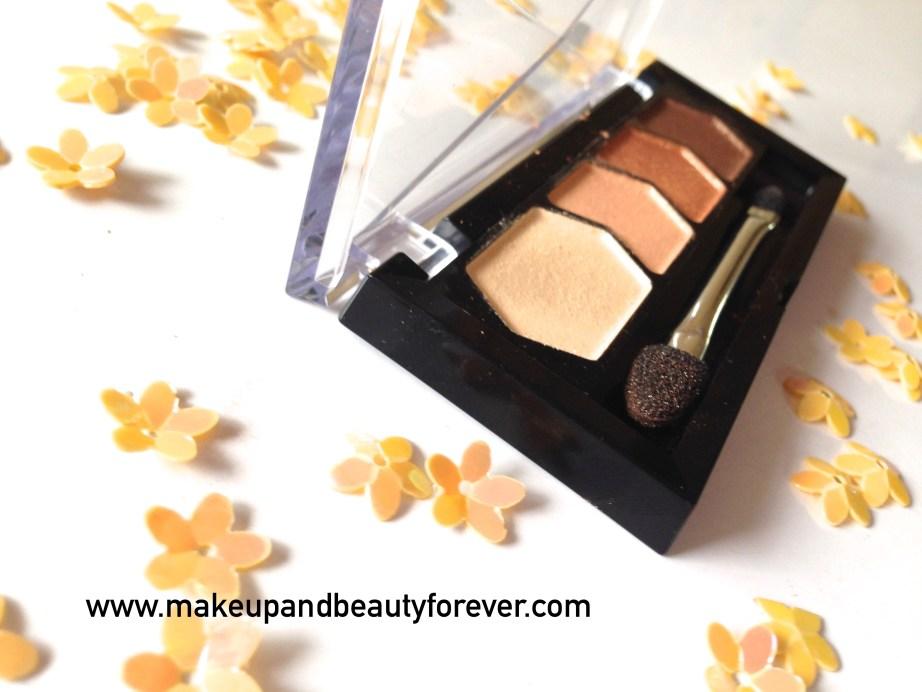 Maybelline Eyestudio Diamond Glow Eye Shadow Quad 01 Copper Brown