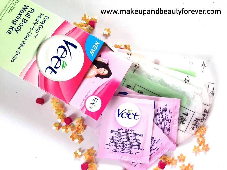 Veet Easy Grip Ready-to-Use Wax Strips Full Body Waxing Kit for Dry Skin with Aloe vera and lotus flower Review 5