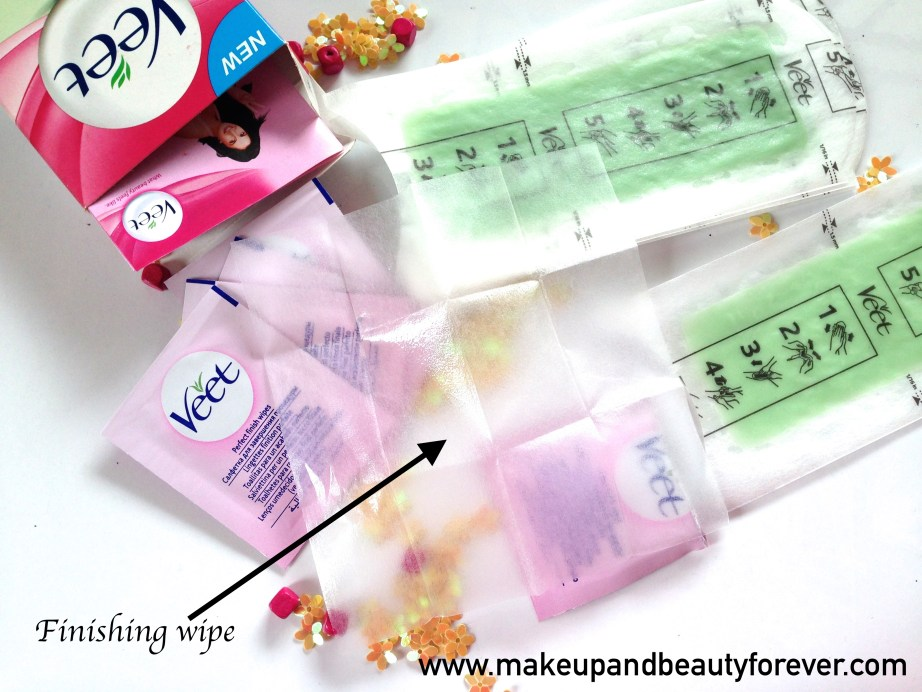 Veet Easy Grip Ready-to-Use Wax Strips Full Body Waxing Kit for Dry Skin with Aloe vera and lotus flower finishing wipes