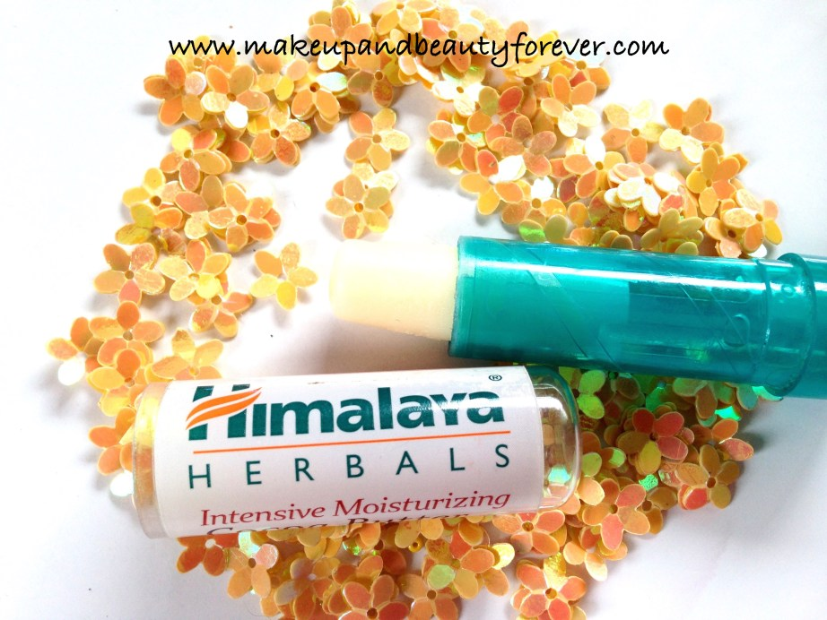 Himalaya Herbals Intensive Moisturizing Cocoa Butter Lip Balm Review Indian Makeup and Beauty Blog
