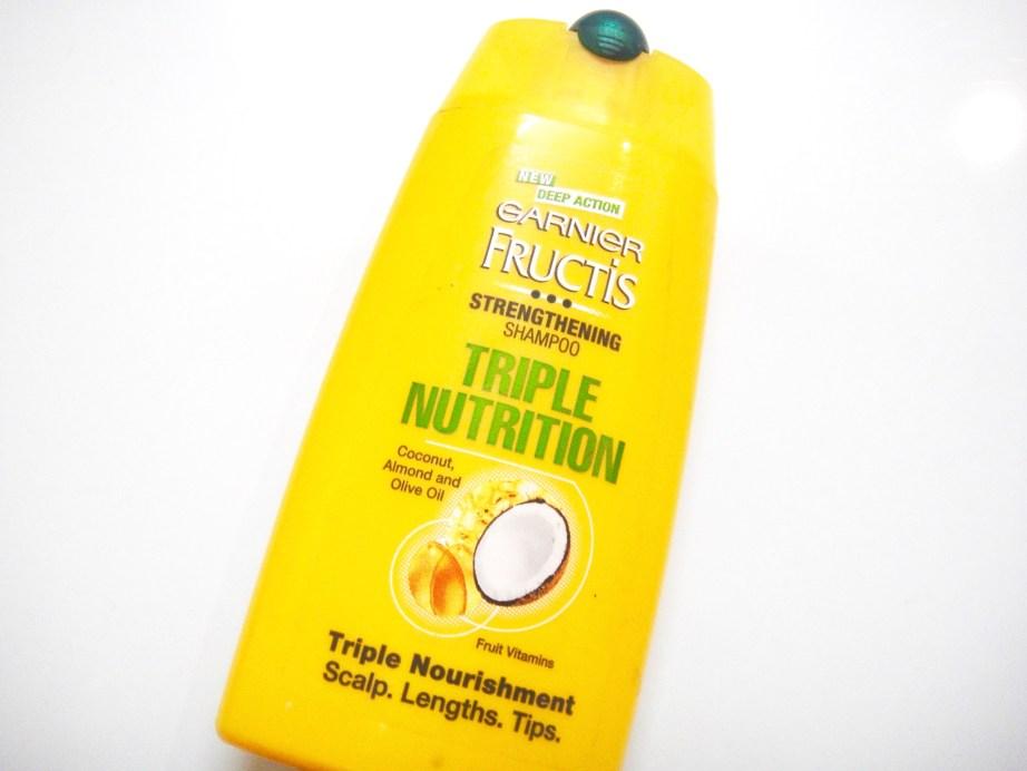 Garnier Fructis Triple Nutrition Strengthening Shampoo Review