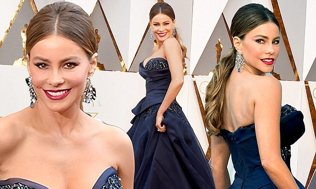 sofia vergara oscars 2016 dress