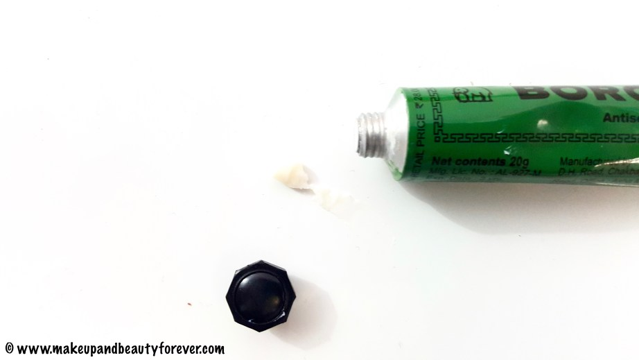 Boroline Antiseptic Ayurvedic Cream Review ingredients