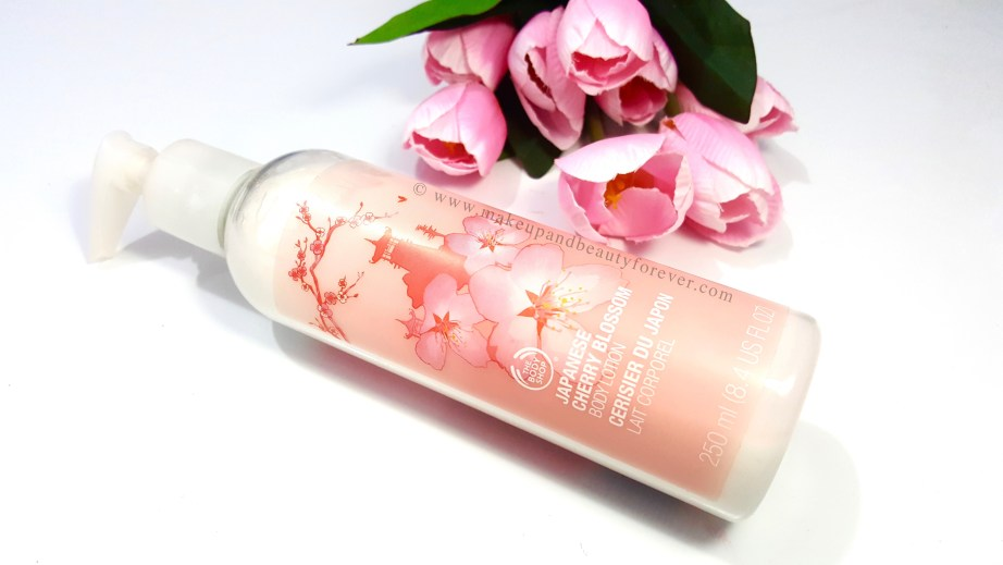 The Body Shop Japanese Cherry Blossom Body Lotion Review