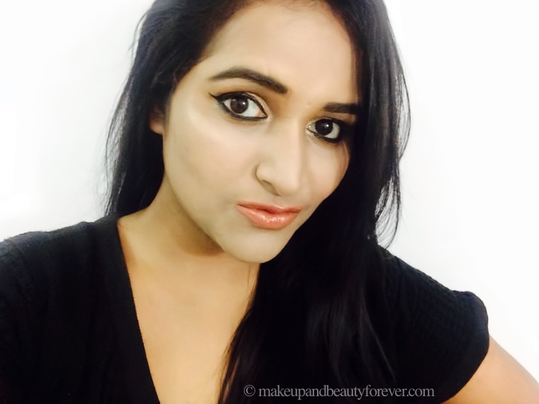 L'Oreal Color Riche Lipstick 840 Nature's Blush Review Swatches on lips mac mocha Astha Goel MBF