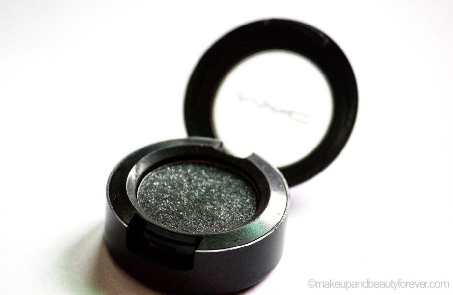 MAC Black Tied Eyeshadow Review Swatch EOTD blog
