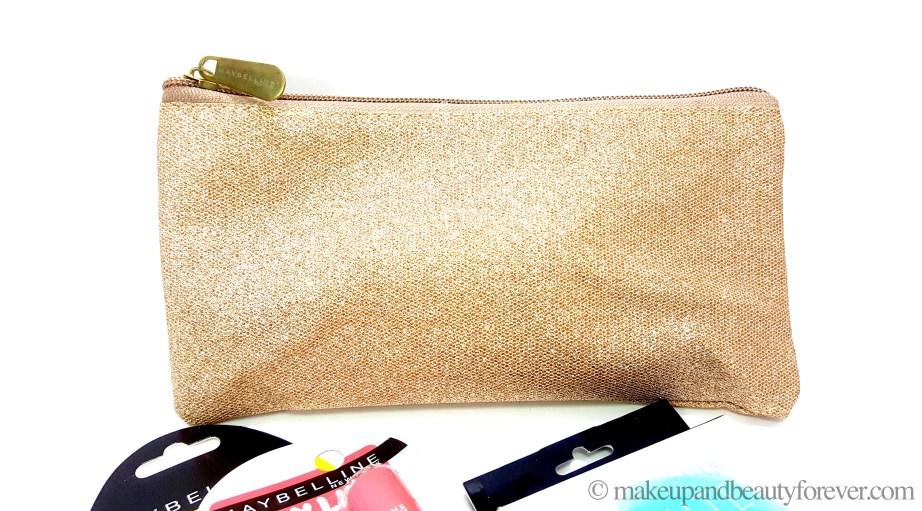 Maybelline New York Summer Essentials Kit Golden pouch