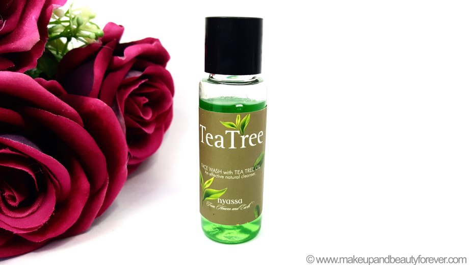 Nyassa Tea Tree Face Wash