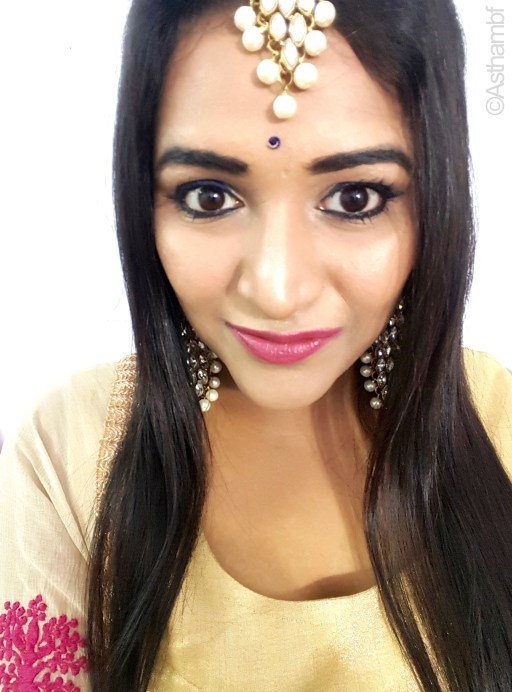 Eid Makeup Look Natural and Wearable Astha Bansal mbf