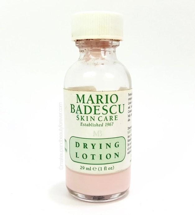 Mario Badescu Drying Lotion review MBF Blog