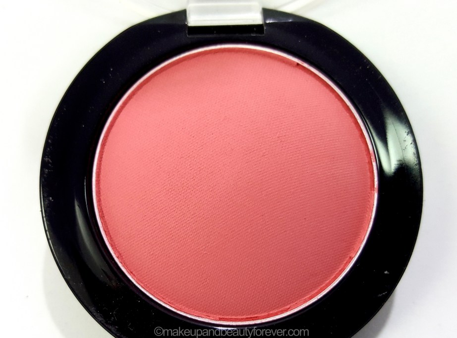Maybelline Color Show Blush Fresh Coral Review Swatches image
