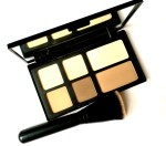 Freedom Pro Strobe Highlight and Contour Palette With Brush Review, Swatches