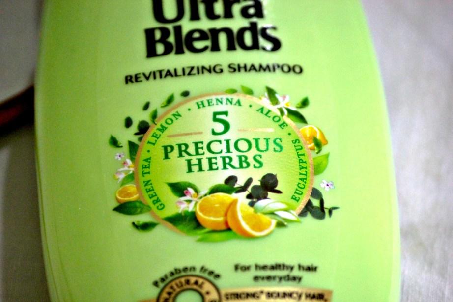 Garnier Ultra Blends 5 Precious Herbs Revitalizing Shampoo Review near
