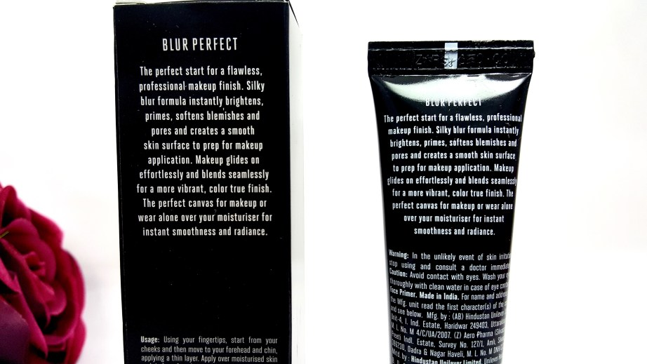 Lakme Absolute Blur Perfect Makeup Primer Review MBF Beauty
