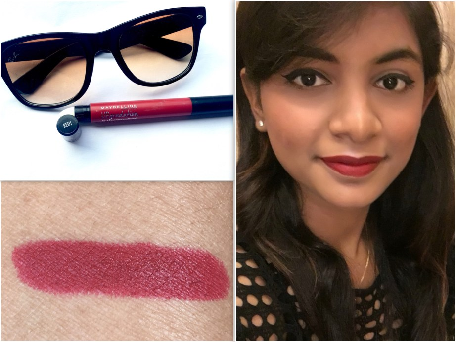 Maybelline Color Sensational Lip Gradation Red 1 Review Swatches