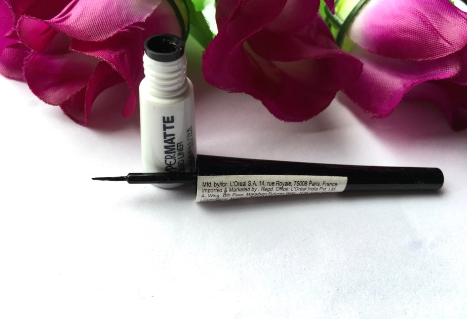 Maybelline Hyper Matte Liquid Liner Review Swatches makeup beauty blog