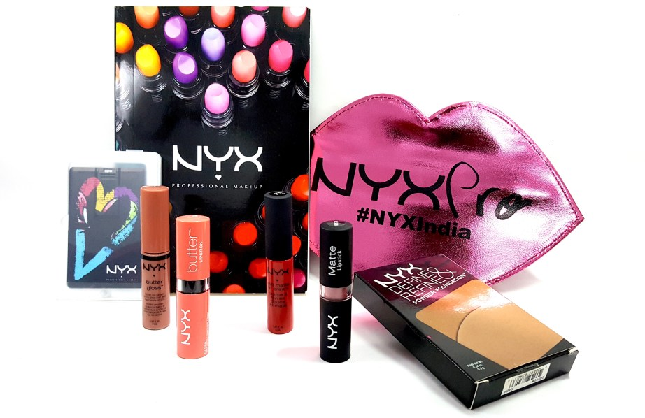 NYX Cosmetics Official Launch in India Haul by Astha MBF Makeup and Beauty Forever Blog