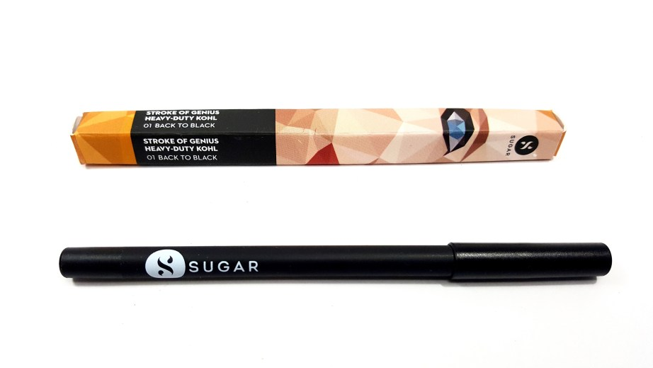 SUGAR Stroke Of Genius Heavy Duty Kohl 01 Back To Black Review Swatches mbf