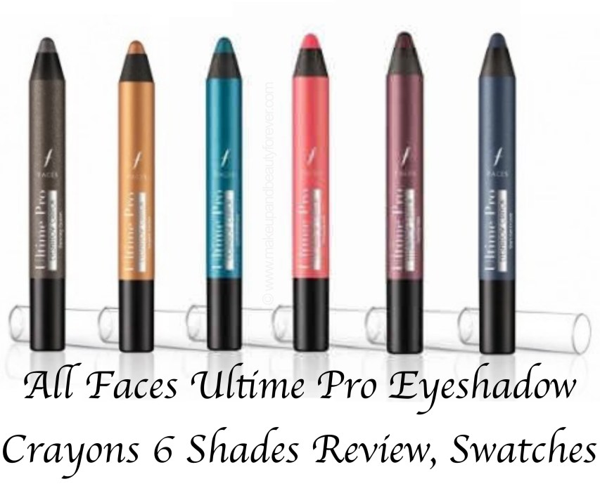 All Faces Ultime Pro Eyeshadow Crayons 6 Shades Review Swatches Dancing Queen 01 Night Fever 02 Last Christmas 03 Uptown Girl 04 Staying Alive 05 Shes Got D Look 06