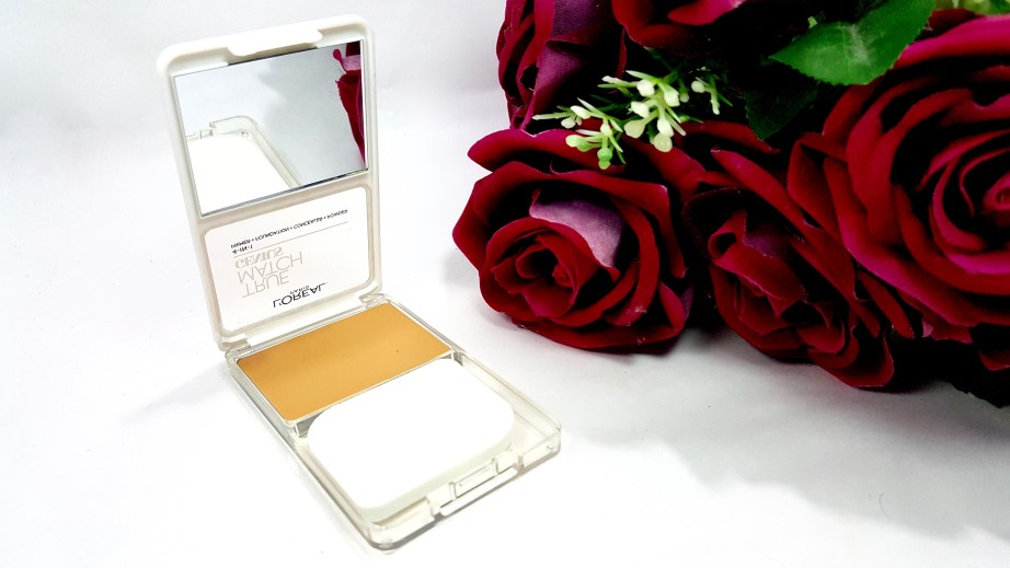 L'Oreal True Match 4-In-1 Compact Foundation Review Swatches