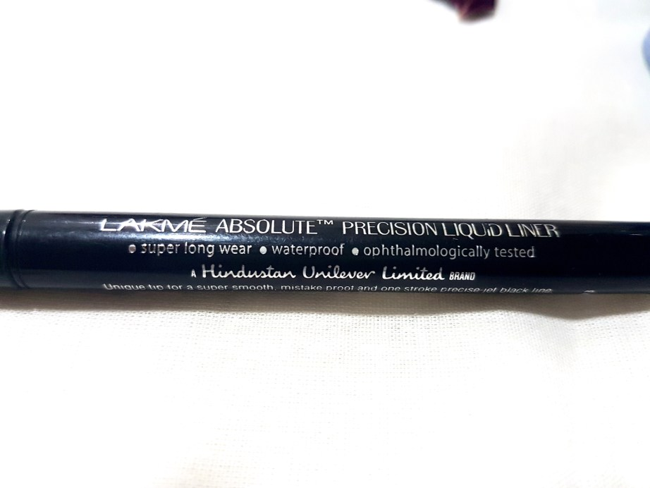 Lakme Absolute Precision Liquid Liner Review Swatches details