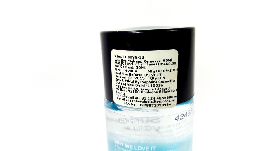 Sephora Waterproof Eye Makeup Remover Review Demo price