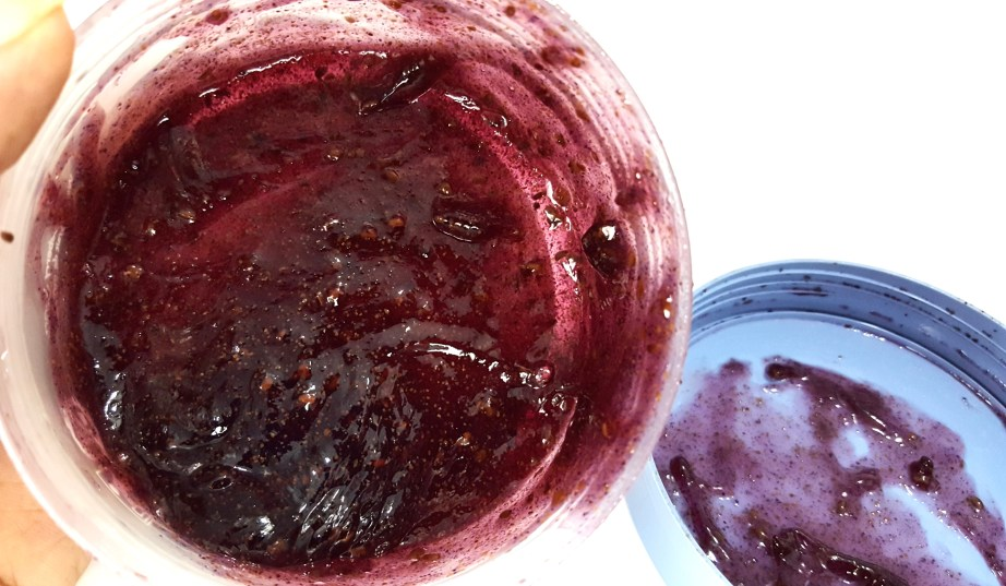 The Body Shop Blueberry Body Scrub Gelee Review mbf