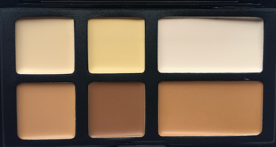 Freedom Pro Cream Strobe Palette with Brush Review Swatches focus