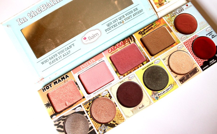 In the Balm of Your Hand Palette Review Swatches