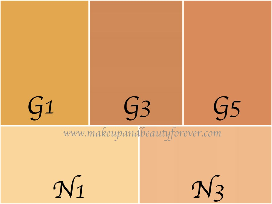 L'Oreal Mat Magique 12H Bright Mat Foundation Review Swatches all shades G1 G3 G5 N1 N3
