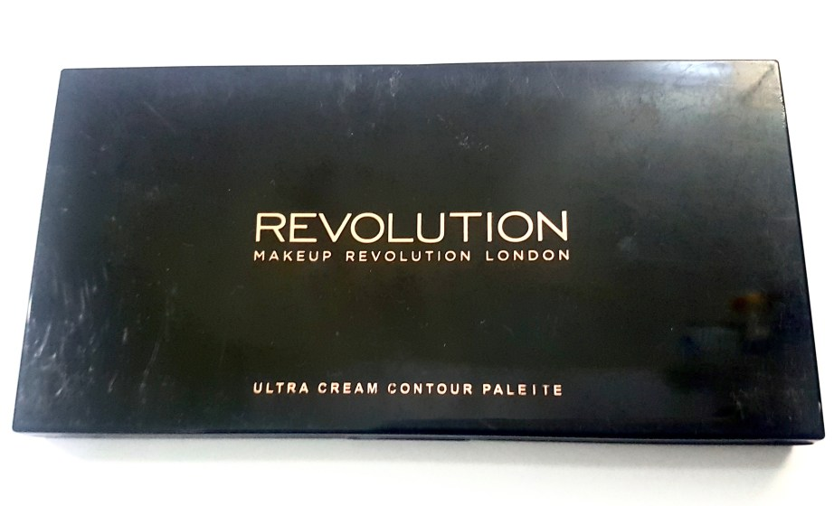 Makeup Revolution Ultra Cream Contour Palette Review Swatches packaging