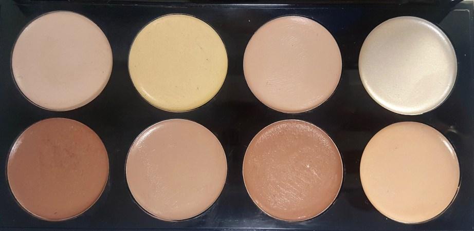 Makeup Revolution Ultra Cream Contour Palette Review Swatches