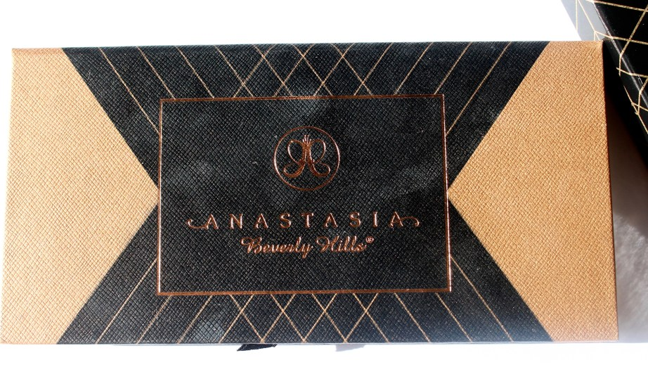 Anastasia Shadow Couture World Traveler EyeShadow Palette Review Swatches front view