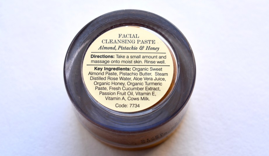 Forest Essentials Facial Cleansing Paste Review Ingredients