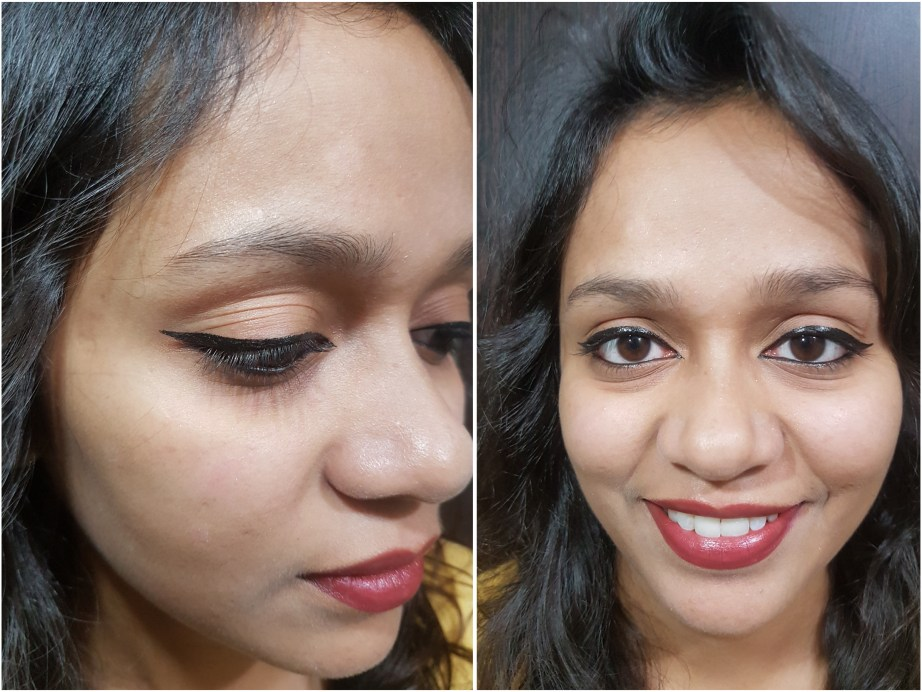 L'Oreal Paris Liner Magique Black Eye Liner Review Swatches MBF Makeup Look