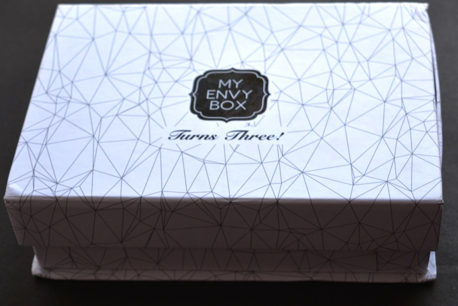 My Envy Box October 2016 Anniversary Edition Review