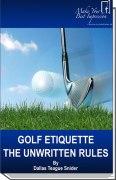 Golf Etiquette E-Book
