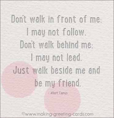 Friendship Cards - Friends Matter