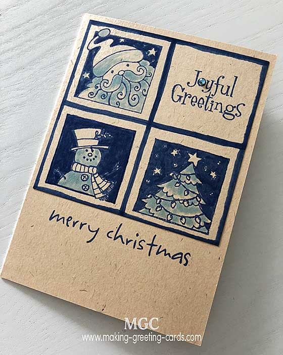 Unique Business Christmas Cards - Christmas Card Sample