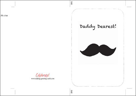 Printable Fathers Day Cards - Download  Print