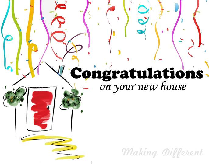 Congratulations Messages for New House